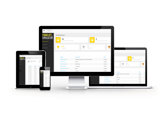 Access the LMS from any connected device