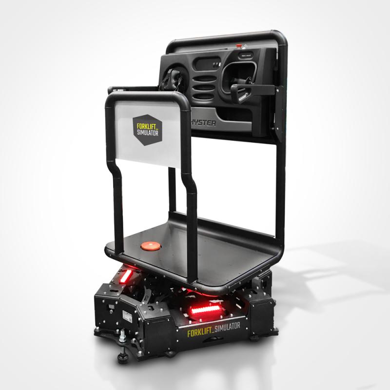 Order Picker simulator on Motion Platform